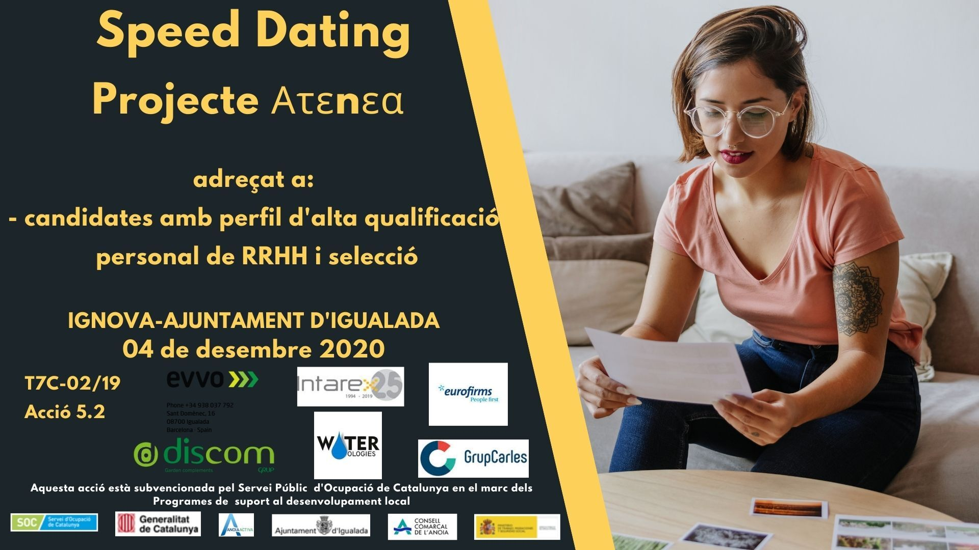 Speed Dating Atenea