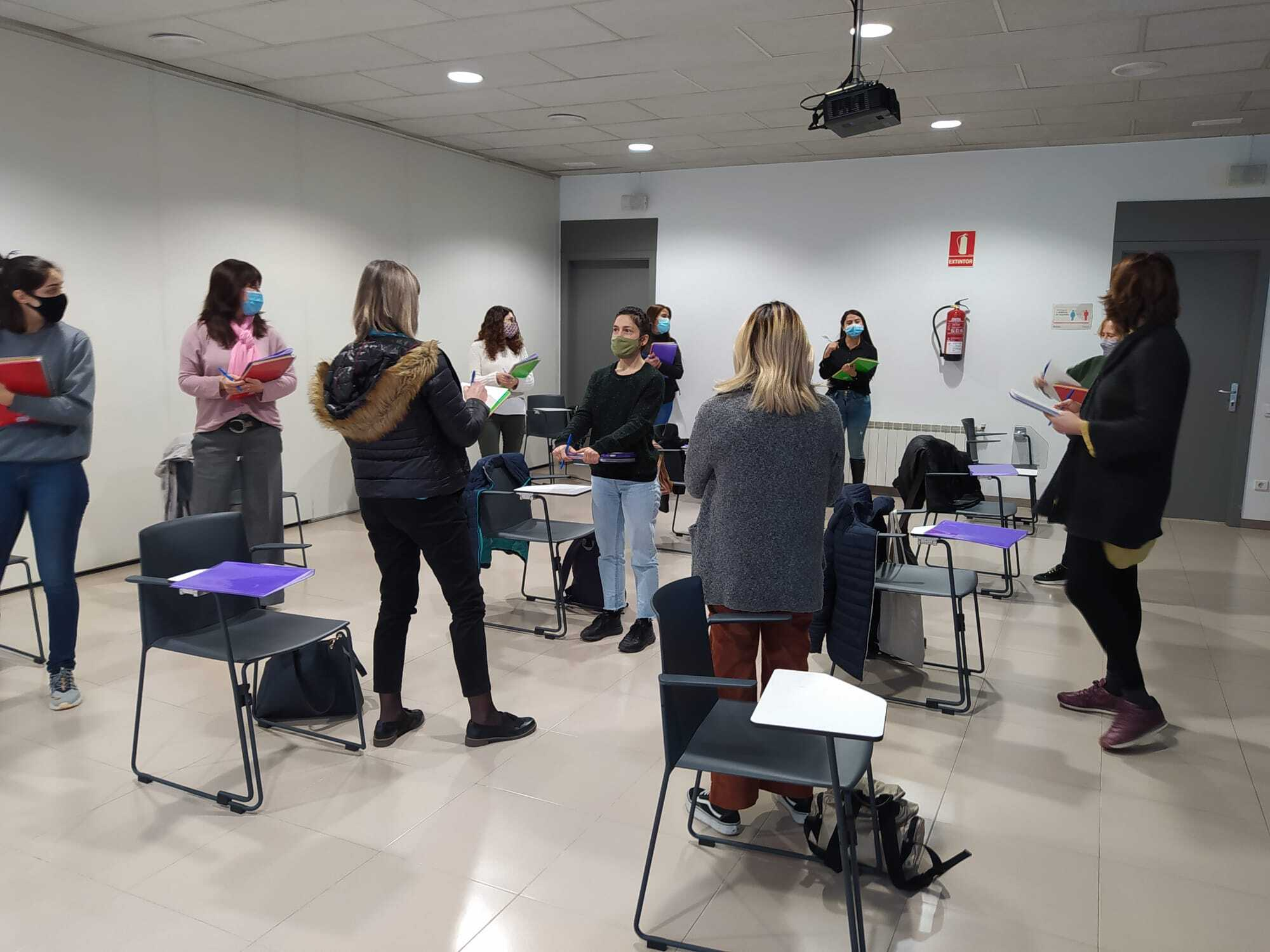 Comença una nova edició del projecte d'Atenea amb una quinzena de participants